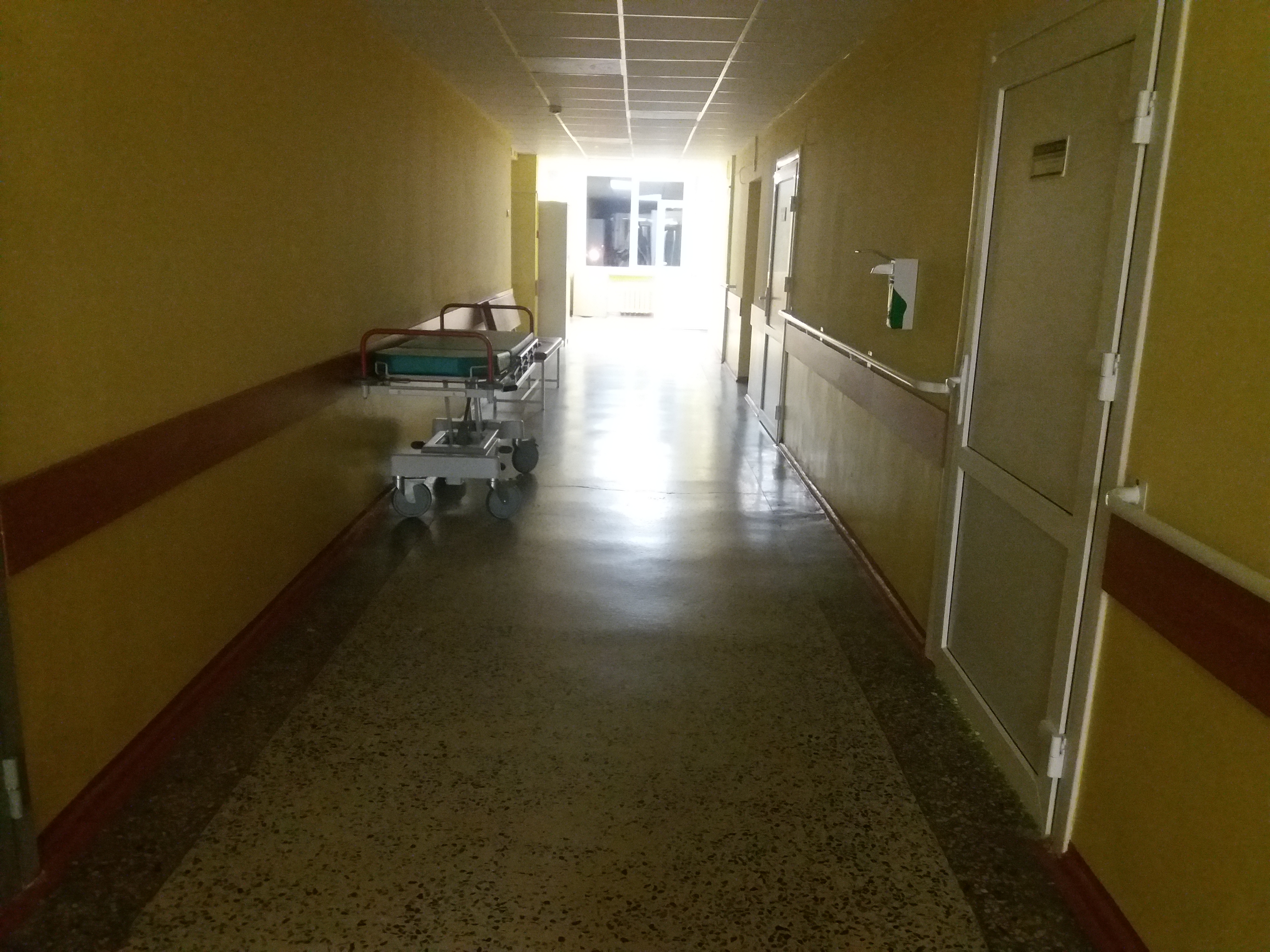 Hospital Light at the End Image